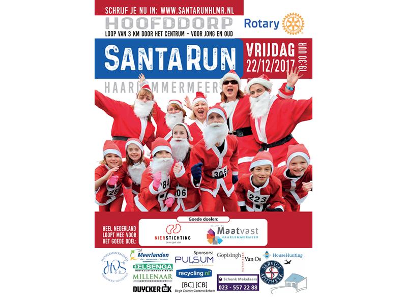 Rotary Santa Run Haarlemmermeer